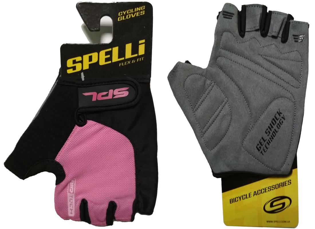 """Перчатки Spelli SBG-1457 Pink """"XS"""""""