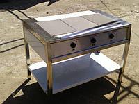 Плита электрическая трехконфорочная