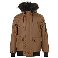 Мужская зимняя куртка бомбер Fabric Plain Bomber оригинал L