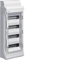 Распределительный щит Vector Hager внешней установки на 48 (56) модулей IP65 с прозрачной дверцей