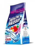 Порошок для стирки цветного WASCHE MEISTER Color 10,5 кг 140 стир