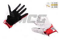 "Перчатки   ""ALPINESTARS""   (mod: MUSTANG, size: L, белые, кожа)"