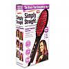 Расческа выпрямитель Simply Straight, расческа для волос, фото 8