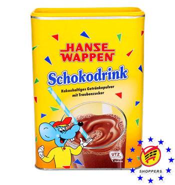 Какао Hanse Wappen Schokodrink 800г