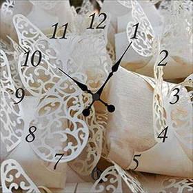 Настенные часы с изображением