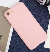 Чехол из тонкого матового TPU для Iphone 6 plus розовый / чехол на айфон / чохол / ультратонкий / бампер / накладка , фото 1