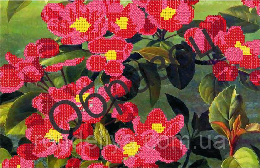 Схема для вишивки бісером «Квіти»