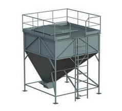 Склад топлива для пеллет СТ-10, 10 куб.м/6,5 т