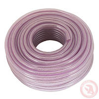 Шланг PVC высокого давления армированный 6мм*50м Intertool