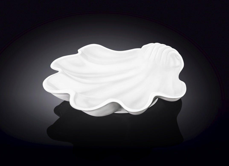 Порцелянове блюдо-черепашка Wilmax WL-992588 28,5x28 см