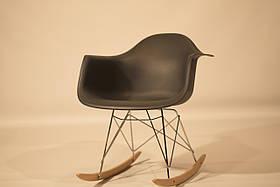 Кресло-качалка Leon, антрацит