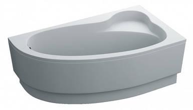 Ванна 160х90 акрилова GLORIA ПРАВА + панель + ніжки