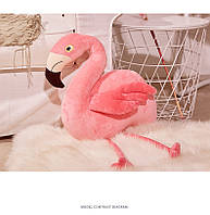 Фламинго мягкая игрушка 40см