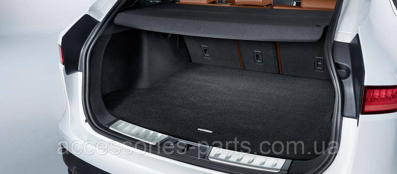Накладка заднего бампера (алюминий) Jaguar F-Pace 2016+ Новая Оригинальная