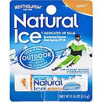 Защитный бальзам для губ Natural Ice Sport SPF 30 Mentholatum