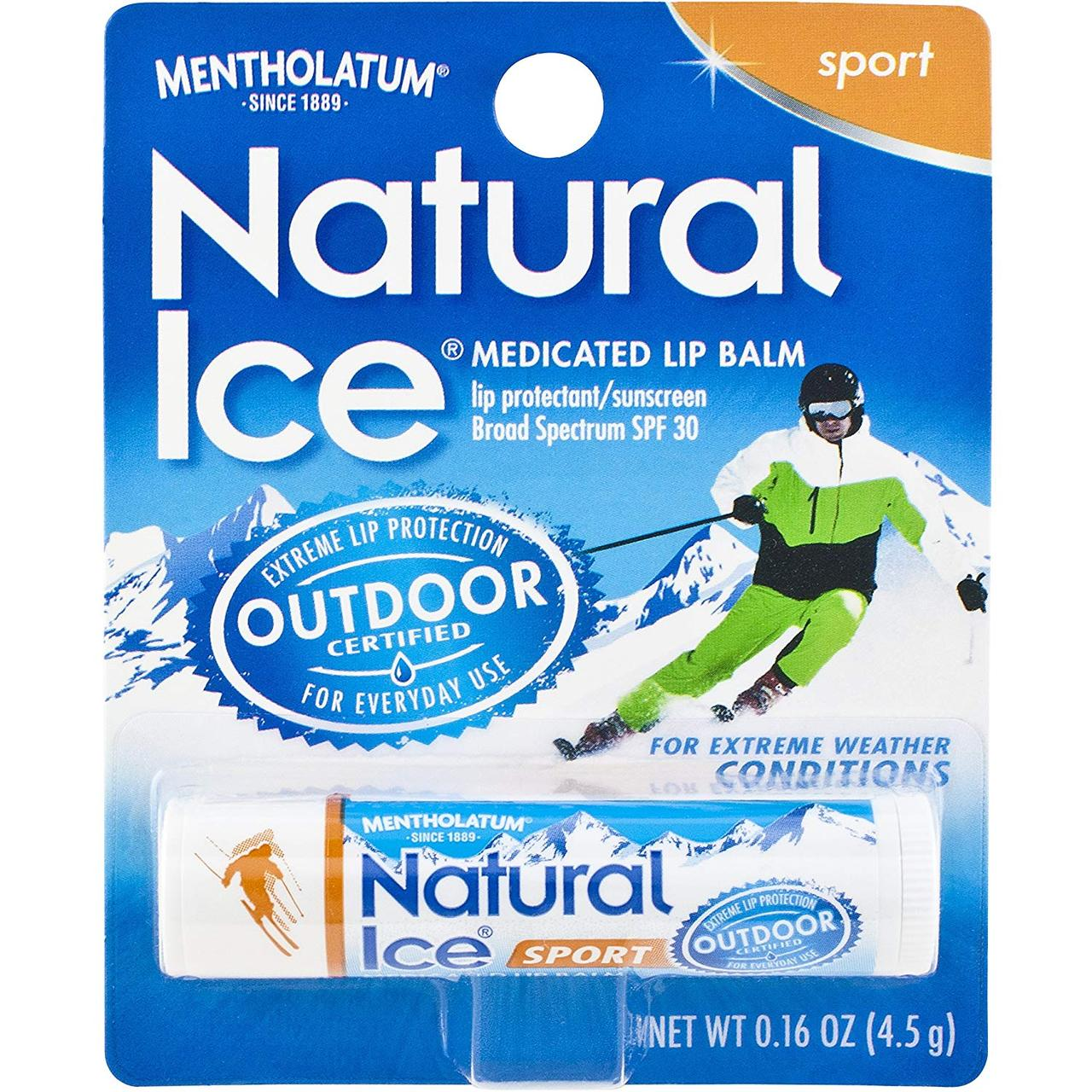 Защитный бальзам для губ Natural Ice Sport SPF 30