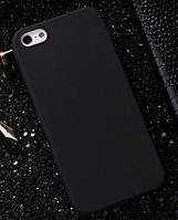 Чехол из тонкого матового TPU для Iphone  8 черный / чехол на айфон / чохол / ультратонкий / бампер / накладка, фото 1