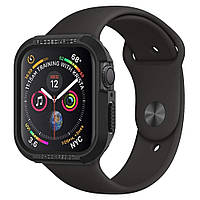 Чехол Spigen для Apple Watch 5/4 (40mm) Rugged Armor, Black (061CS24480)