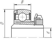 Подшипник SA210 YET 210 (AEL210 NOH)