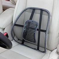 Ортопедическая спинка-подушка на кресло, авто сиденье c массажем.
