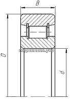 Підшипник - 102304 (N304W) 10 ГПЗ