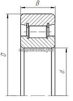Підшипник - 102314 (N314W) ГОСТ