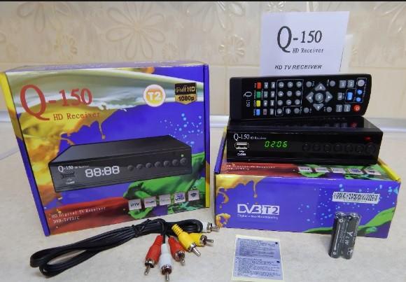 Комплект для приема каналов Т2, а также  IPTV YouTube MeGo через Wi-Fi интернет