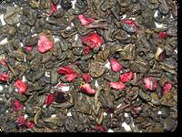 """Зелёный ароматизированный чай """"Дикая вишня"""""""