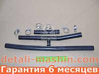Патрубки печки отопителя ВАЗ 2110 2111 2112 (шланги 3шт+ хомут) №89РШ (пр-во БРТ)
