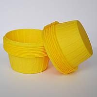 Капсула для кексов(желтая) №171(25 шт.)