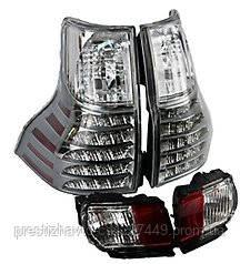 Задние фонари и диодные стопы Toyota Land Cruiser Prado 150