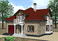 Проекты домов, зданий, сооружений от 20 грн. за 1м2!