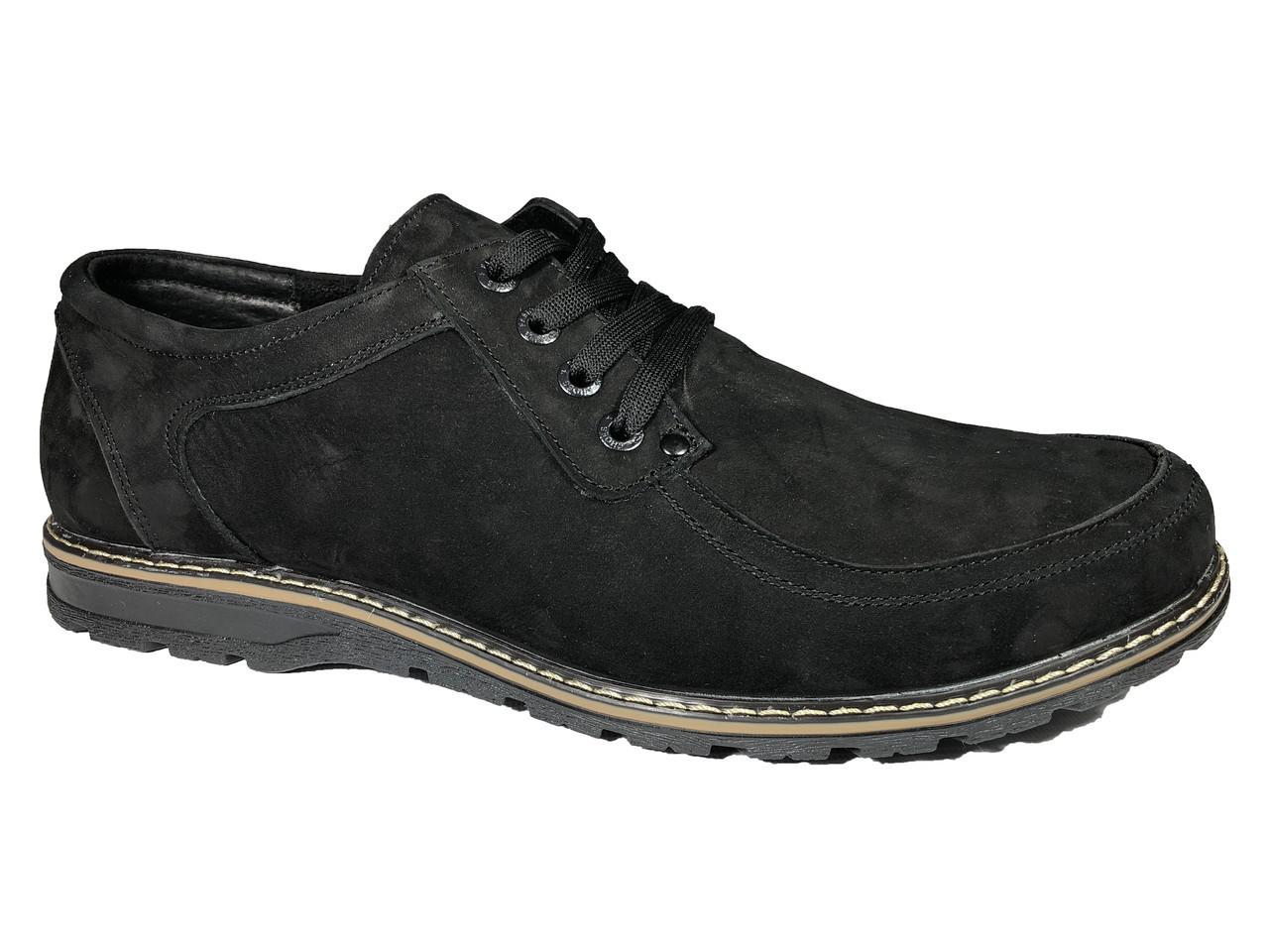 bcc0cd08d Туфли мужские 49 размера повседневные модель Т-4 нубук -  BigBoss-производитель мужской обуви
