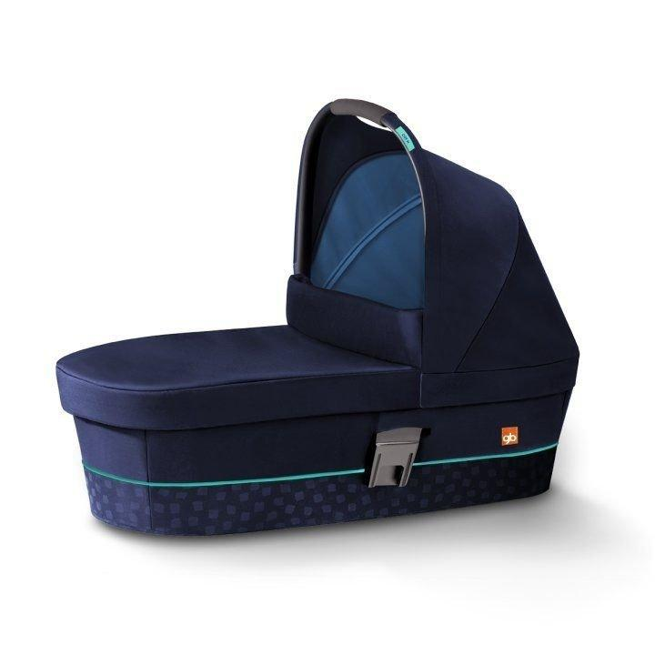 Люлька GB Cot / Sea Port Blue-navy blue
