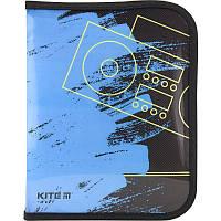 Папка для тетрадей на молнии Kite Be sound B5 K18-203-3, фото 1