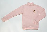 Джемпер теплый для девочки р.122,128,134,140,146,152 SmileTime Molly, светло-розовый