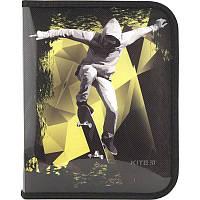 Папка для тетрадей на молнии Kite Cool Skateboarder B5 K18-203-4, фото 1