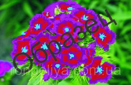 Схема для вишивки бісером «Щасливі квіти»