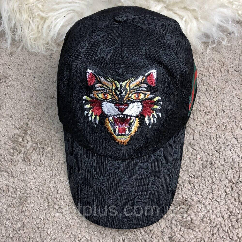 3fc1844eed4c0c Baseball Hat Gucci Web GG Supreme Angry Cat Black: продажа, цена в ...