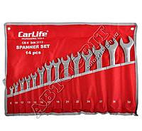 Набор ключей CARLIFE рожково-накидных комбинированных 8-32 мм 14 ед. WR4214