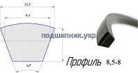 Ремінь вентиляторний 8,5-8-1280 Delux