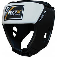Боксерский шлем RDX White, фото 1