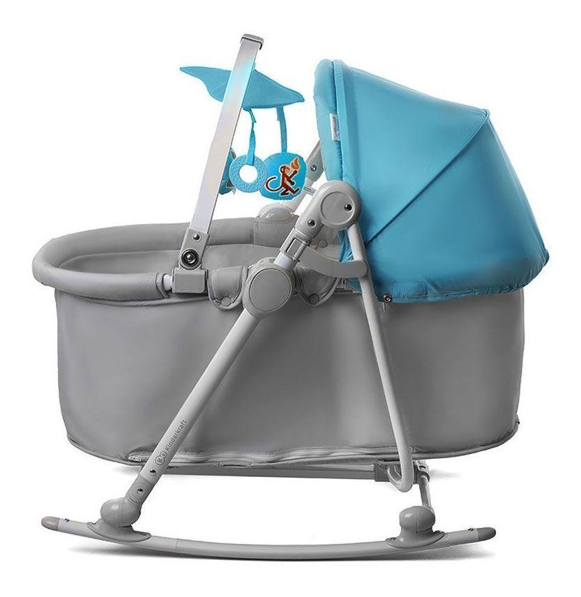 Детское кресло-качалка 5 в 1 Kinderkraft Unimo с кроваткой