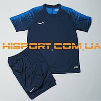 Футбольная форма игровая Nike темно-синяя