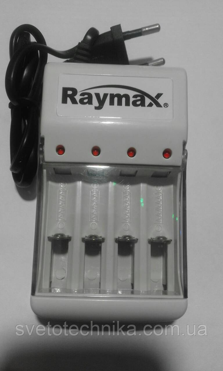 Зарядное устройство Raymax RM-115 на 4 аккумулятора ААА или АА