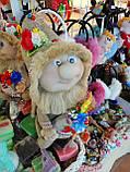 Кукла оберег Домовой с  ягодами и цветами декор, фото 9