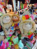 Кукла оберег Домовой с  ягодами и цветами декор, фото 10