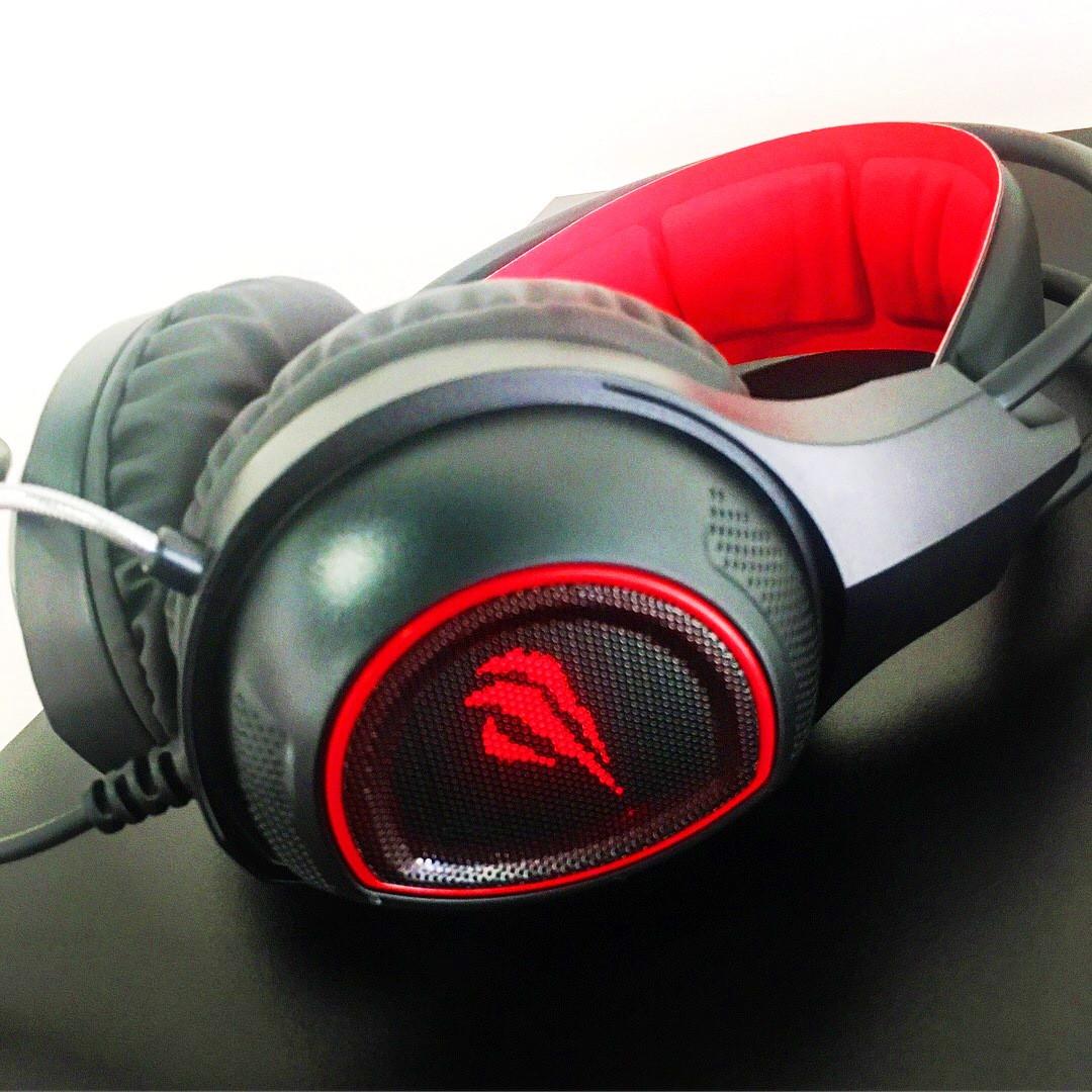 Наушники HAVIT HV-H2239d black/red