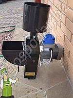 Кормодробилка електрическая с функцией бурякорезки Мотор Сич КД-2, двигатель 750 Вт, фото 1