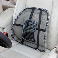 Ортопедическая спинка-подушка на кресло, авто сиденье c массажем., фото 1
